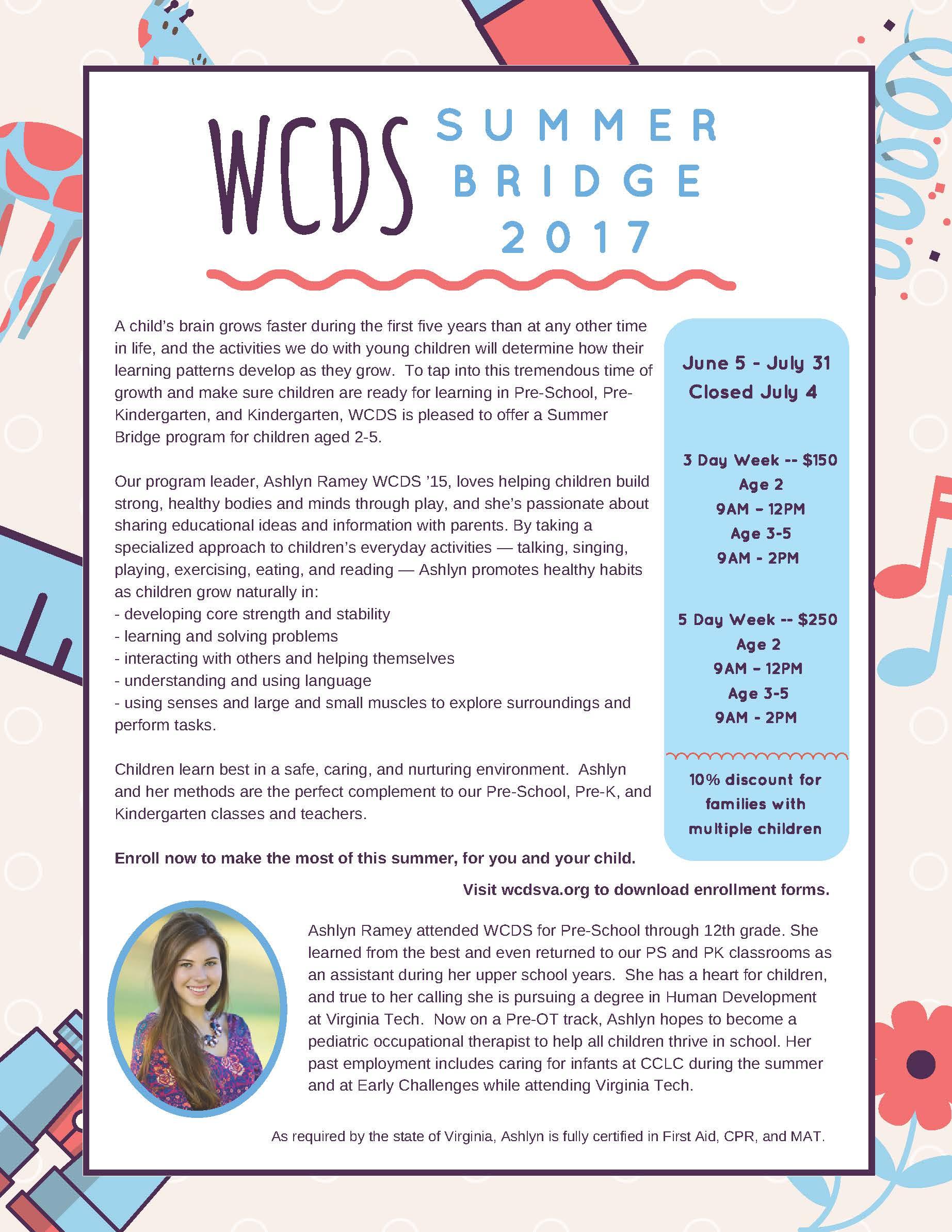 New Summer Bridge 2017