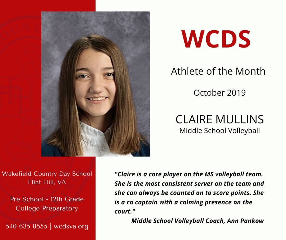 Female Athlete of the Month