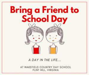 Bring a friend to school