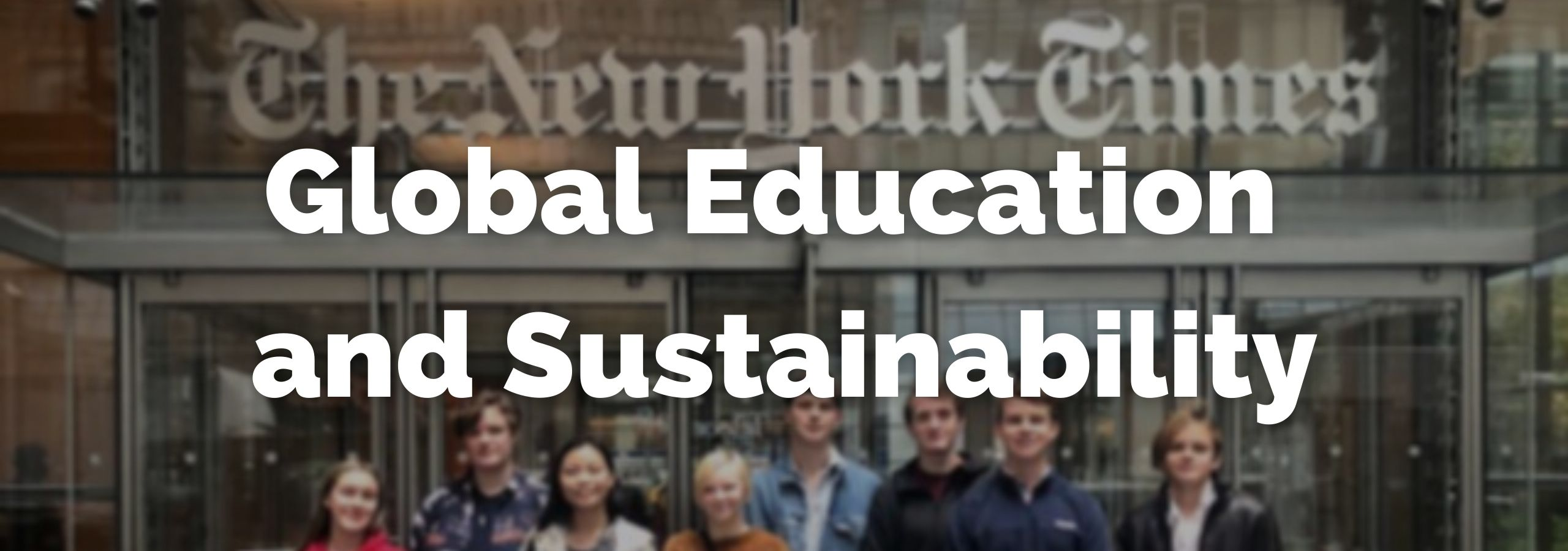 Global Education and Sustainability