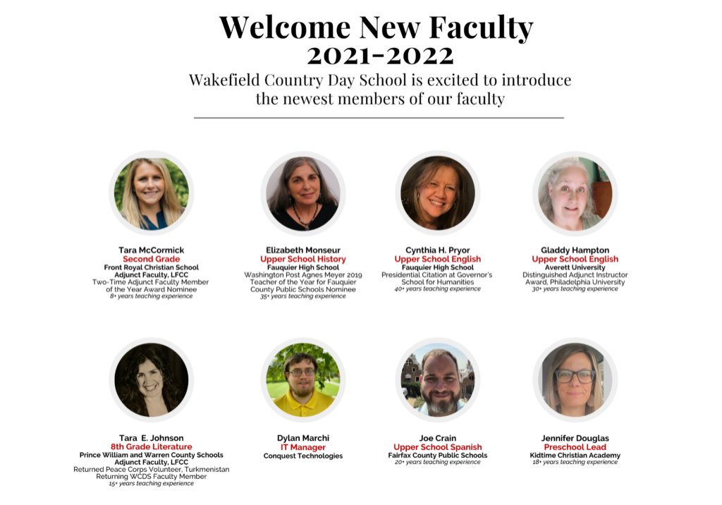 WCDS New Faculty